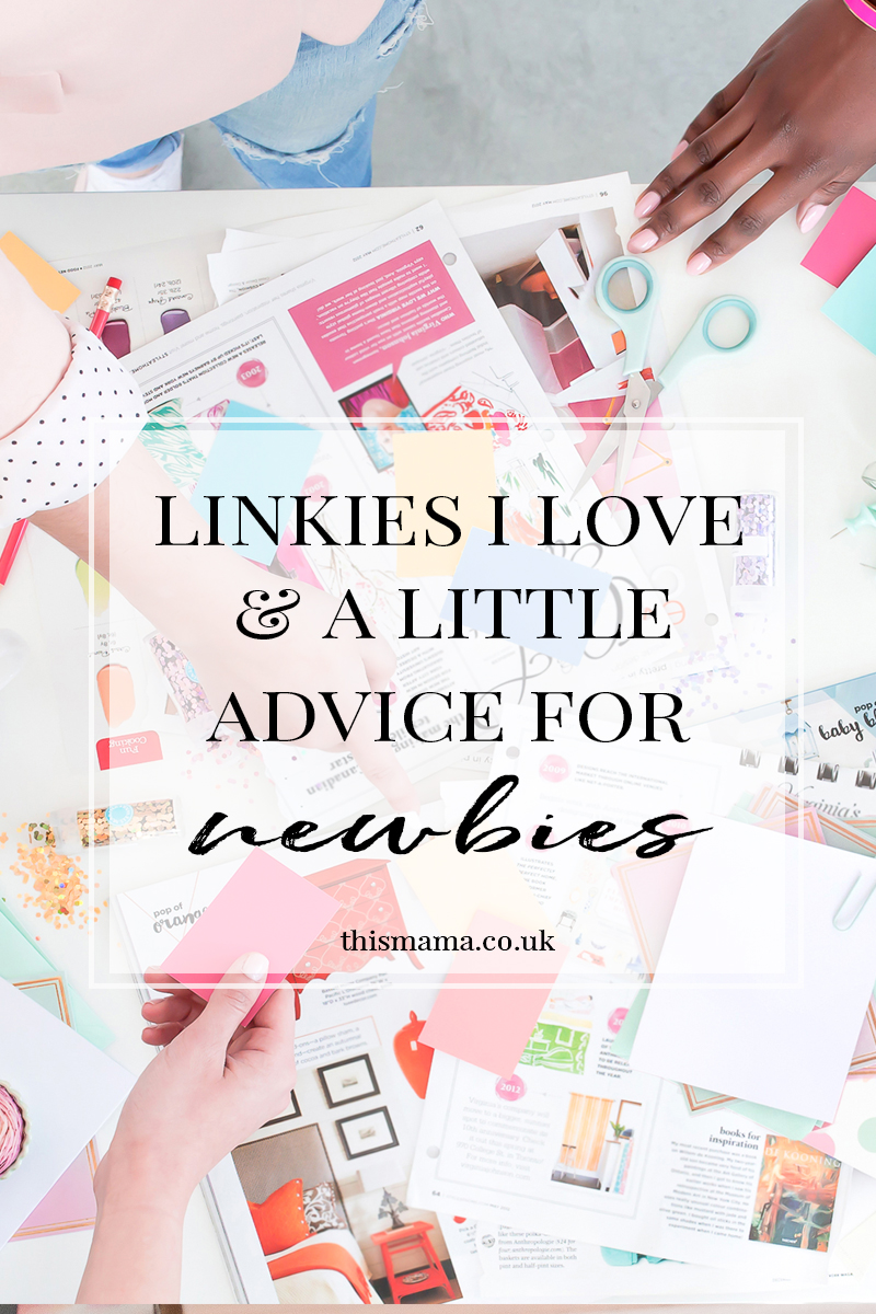 The ultimate linky list and advice for newbies
