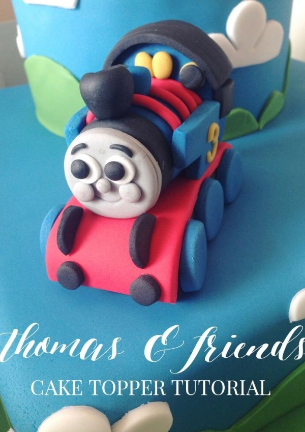 Thomas the tank cake topper tutorial
