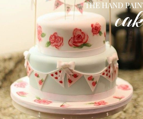 CAKE CLUB | THE HAND PAINTED CAKE