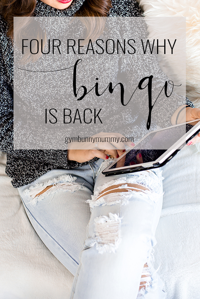 Four reasons why bingo is back @gymbunnymum