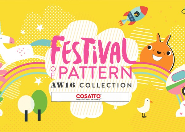 Take a peek at the stunning new Cosatto AW16 Festival of Pattern Collection @gymbunnymum