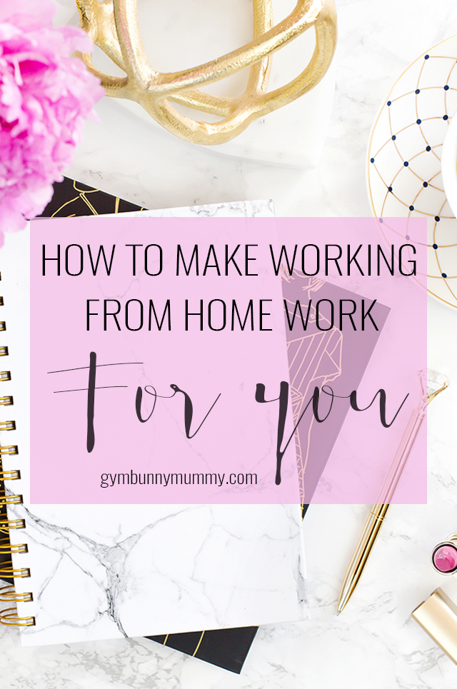 I've been running my business from home for over four years now so I've had plenty of time to figure how to be a work from home mum. It sounds like an ideal solution to be able to work around your family commitments and raising the kids but it's a lot harder than you first realise but well worth the effort. So here's how to make working from home work for you.