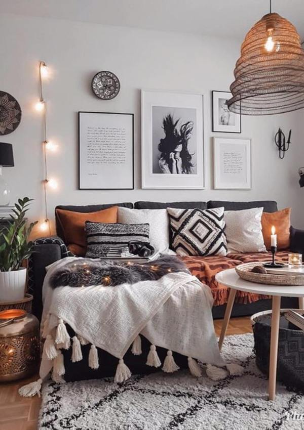 COSY BOHO LIVING ROOM INSPIRATION