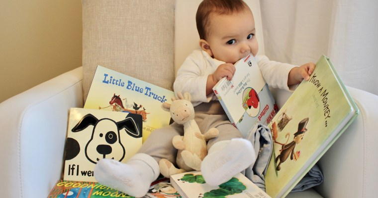 Our 10 Favorite Books for Baby's First Library