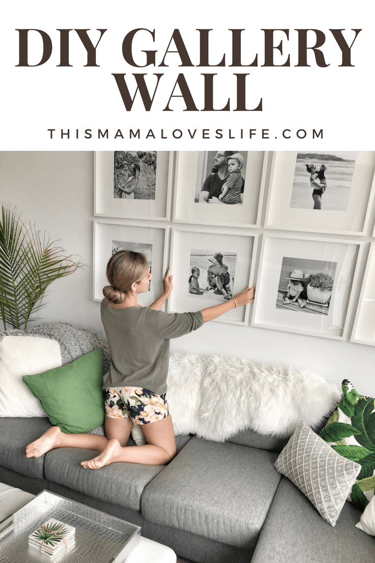 e356168b242a How to create a grid-style gallery wall of family photos! • This ...