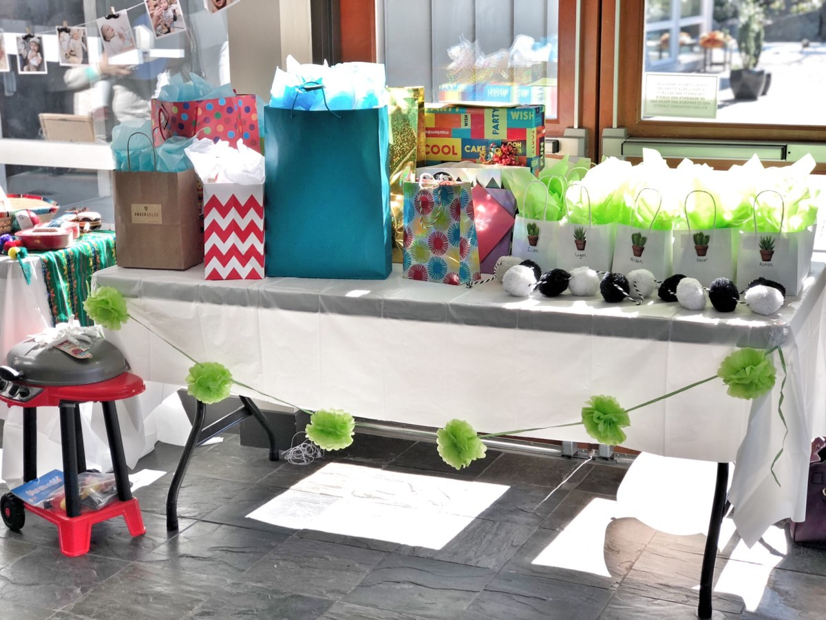 fiesta birthday table
