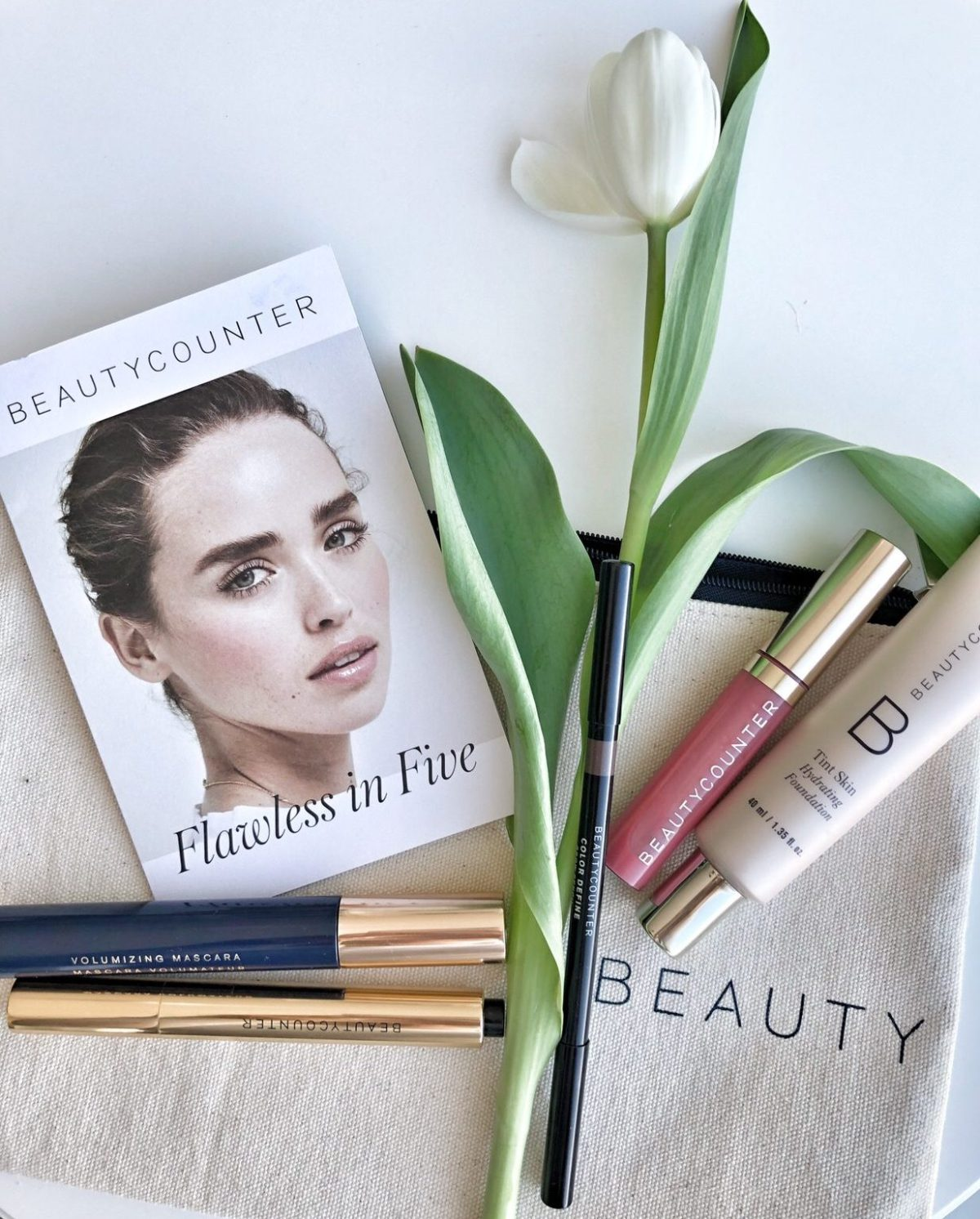 flawless in five makeup review