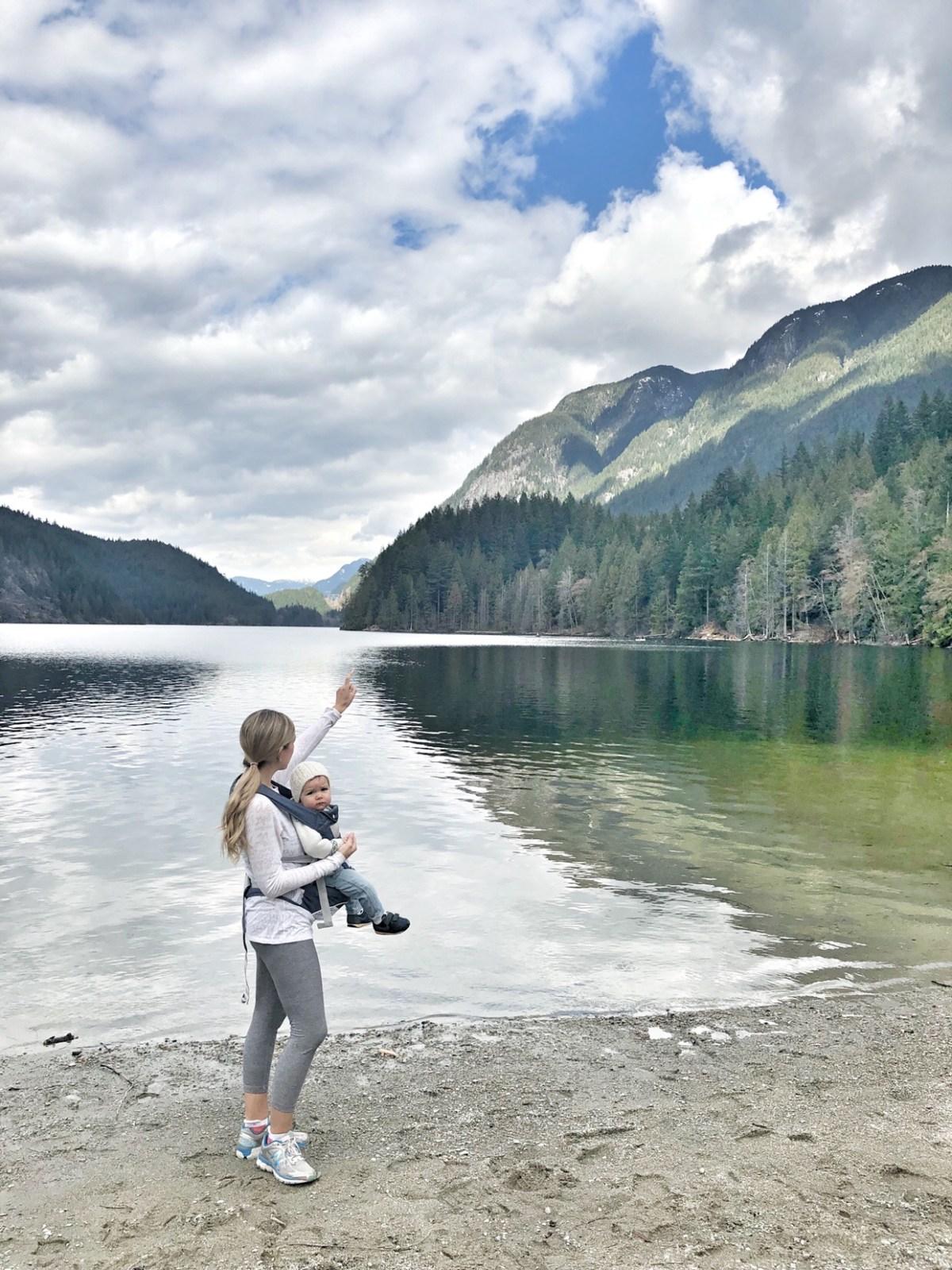beautiful buntzen lake