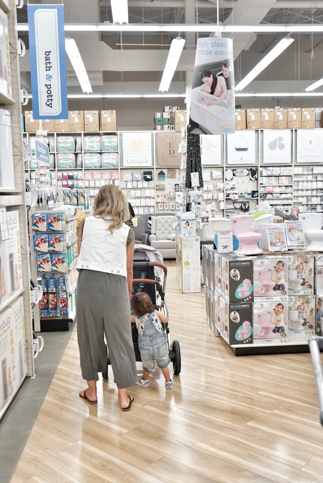 buybuy baby shopping experience