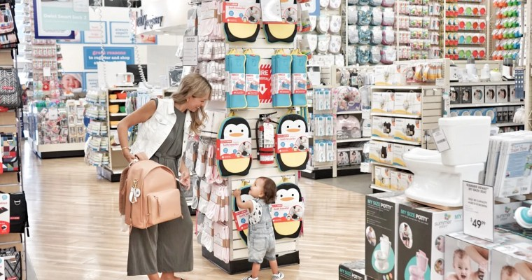 Shopping for essentials at buybuy Baby!