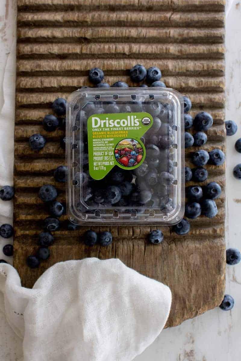 Driscoll's blueberries on @beardandbonnet