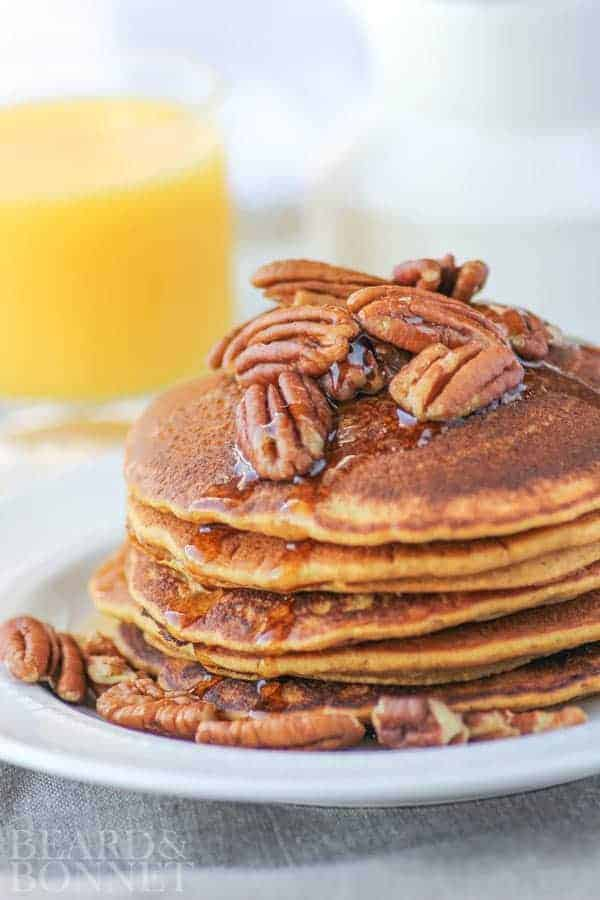 gluten free pumpkin pancakes for better homes and gardens delish dish beard and bonnet - Free Better Homes And Gardens