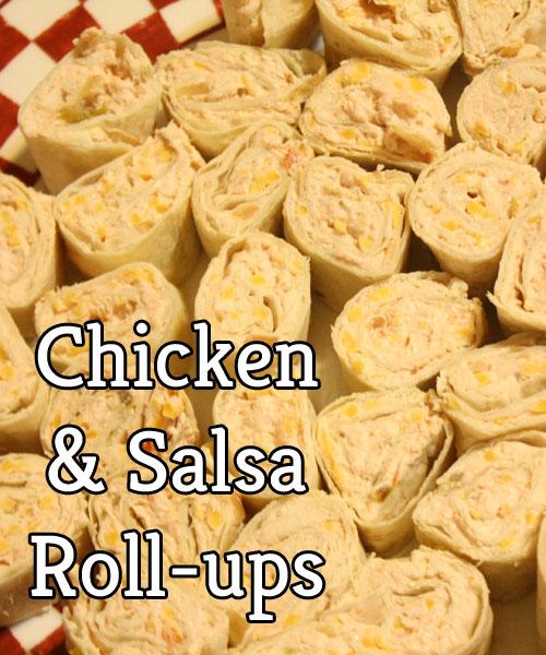 Salsa Roll-ups