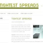 Tightest Spreads