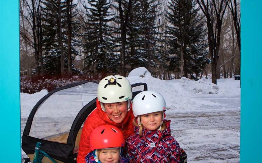 Winter Ride: Keeping Kids Warm