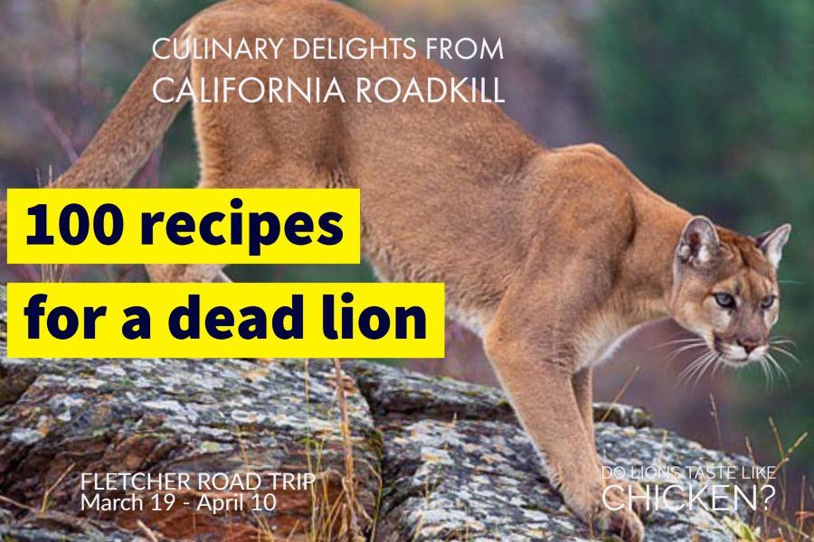do lions taste like chicken?