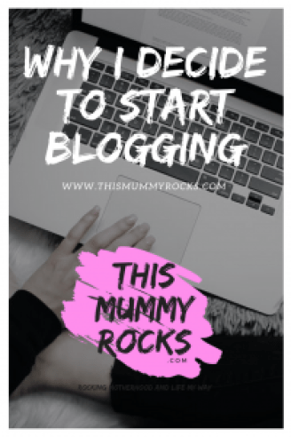 Why I Decide To Start Blogging