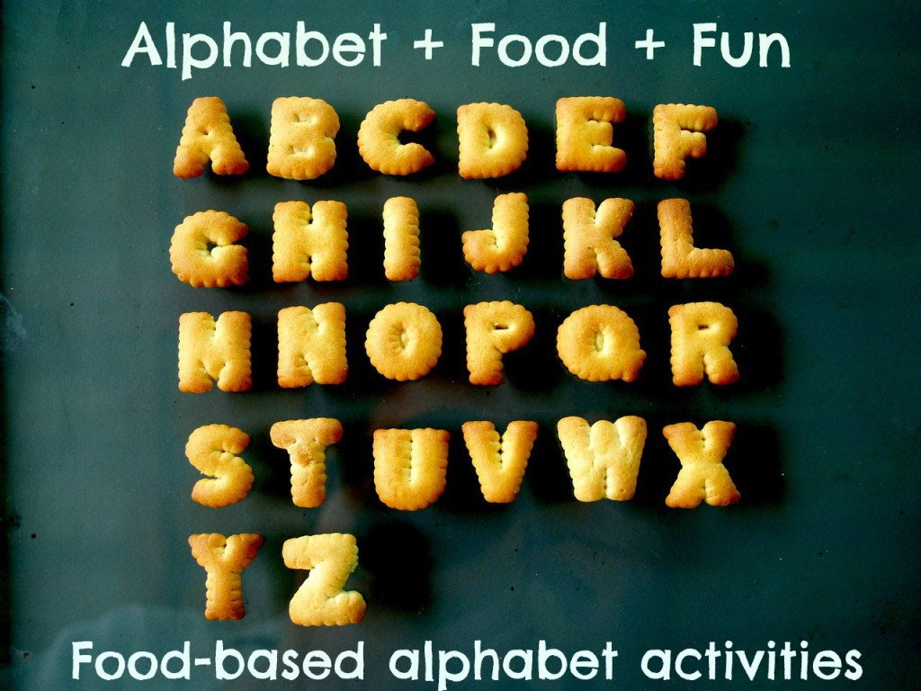 An Alphabet Of Food-based Activities To Keep The Kids Entertained