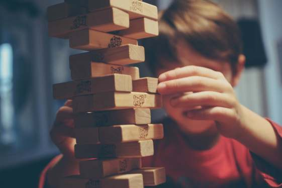family games night jenga