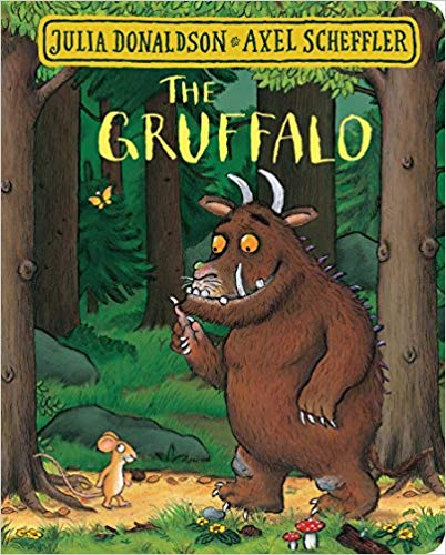 The grufallo Autumn childrens books to share with your family