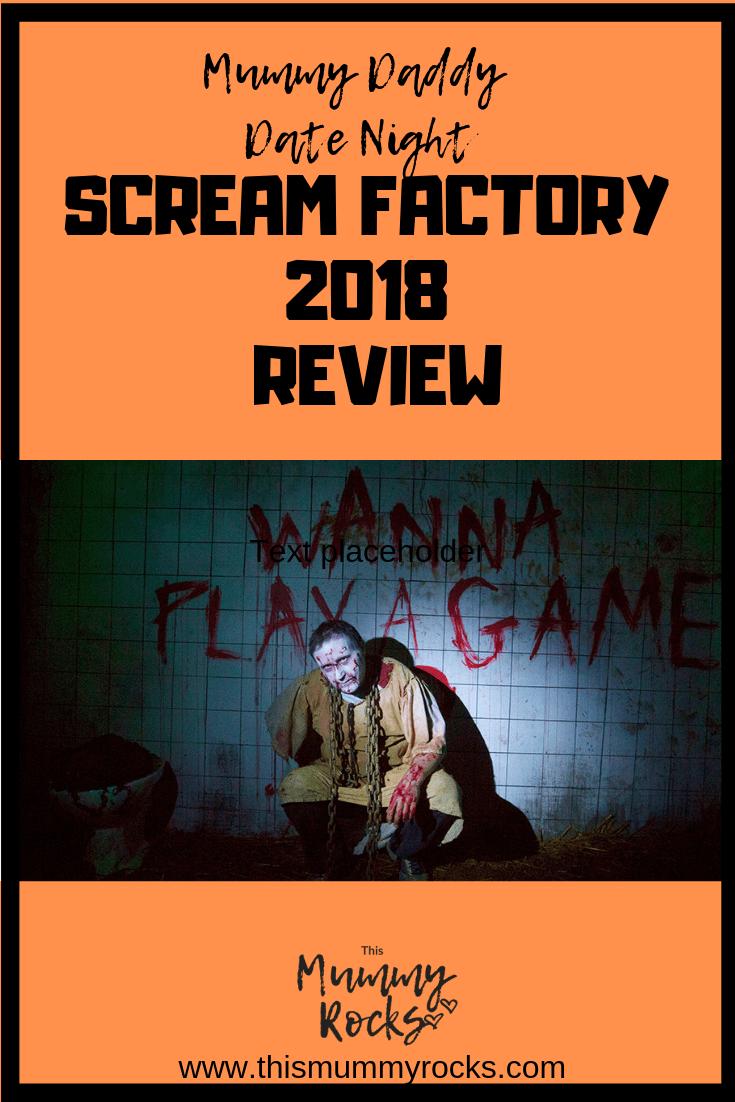 Scream factory pin