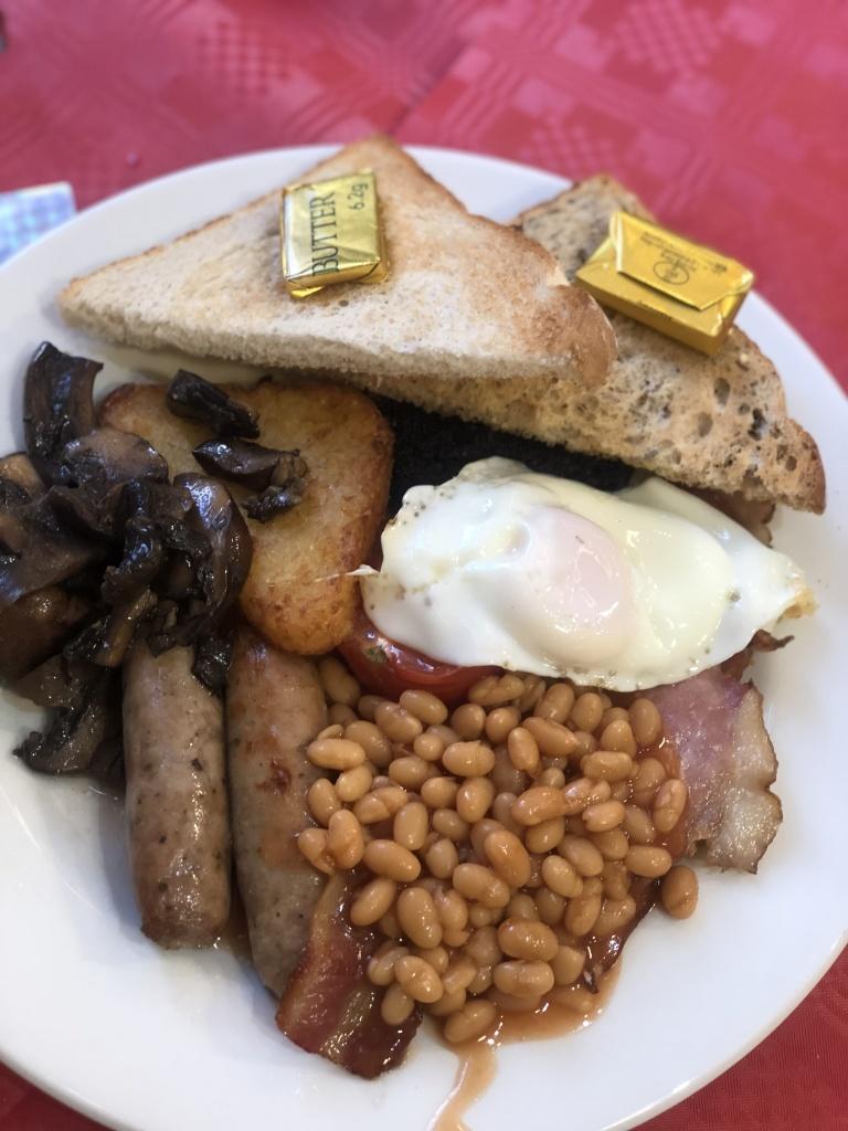 Wyevale garden breakfast with santa adults breakfast