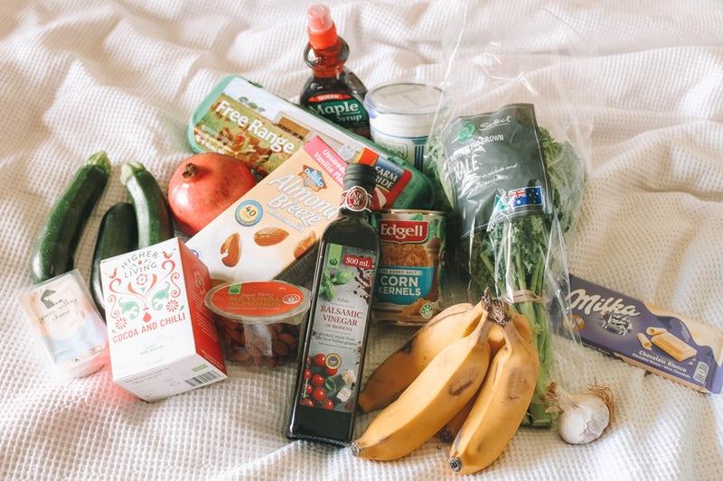 food shopping meal plan