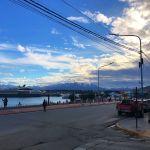 tramonto a ushuaia argentina