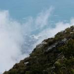 vista oceano da table mountain