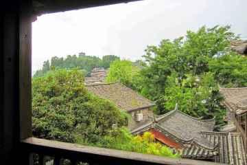 vista di lijiang da zen garden hotel