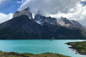 Cuernos e lago pehoe