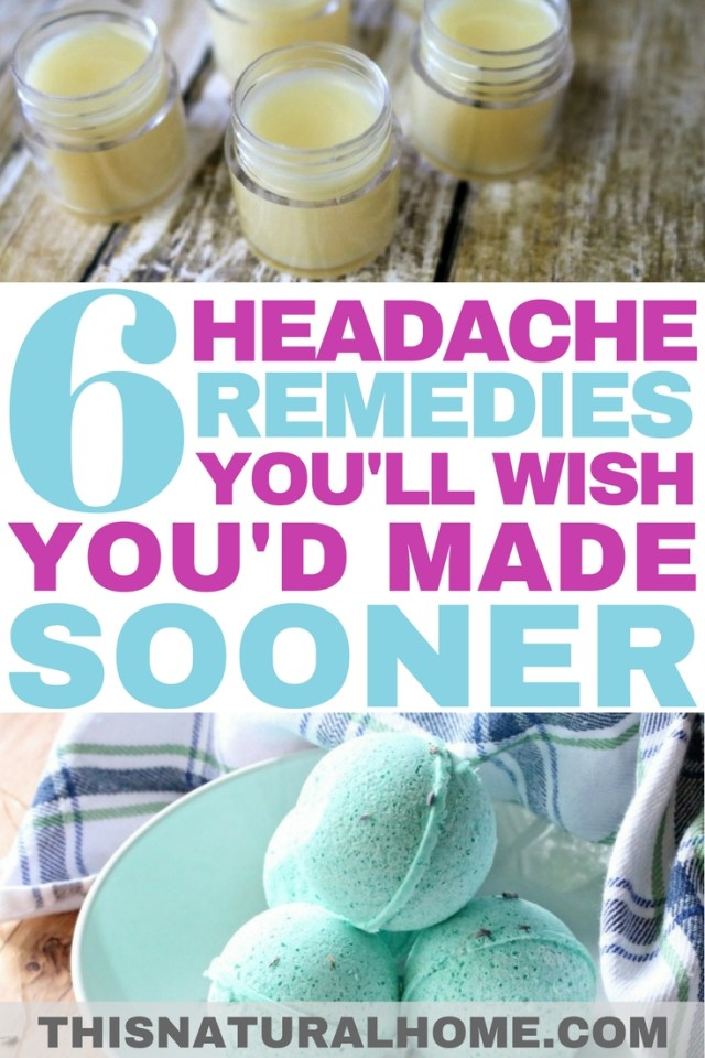 If you have these headache remedies on hand when you feel a headache coming on, you'll be feeling better in no time!
