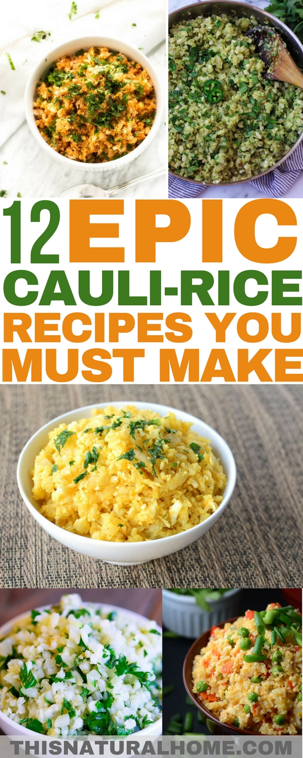 Cauliflower rice can literally change your life, especially if you're going grain free. These epic cauli-rice recipes are must makes!