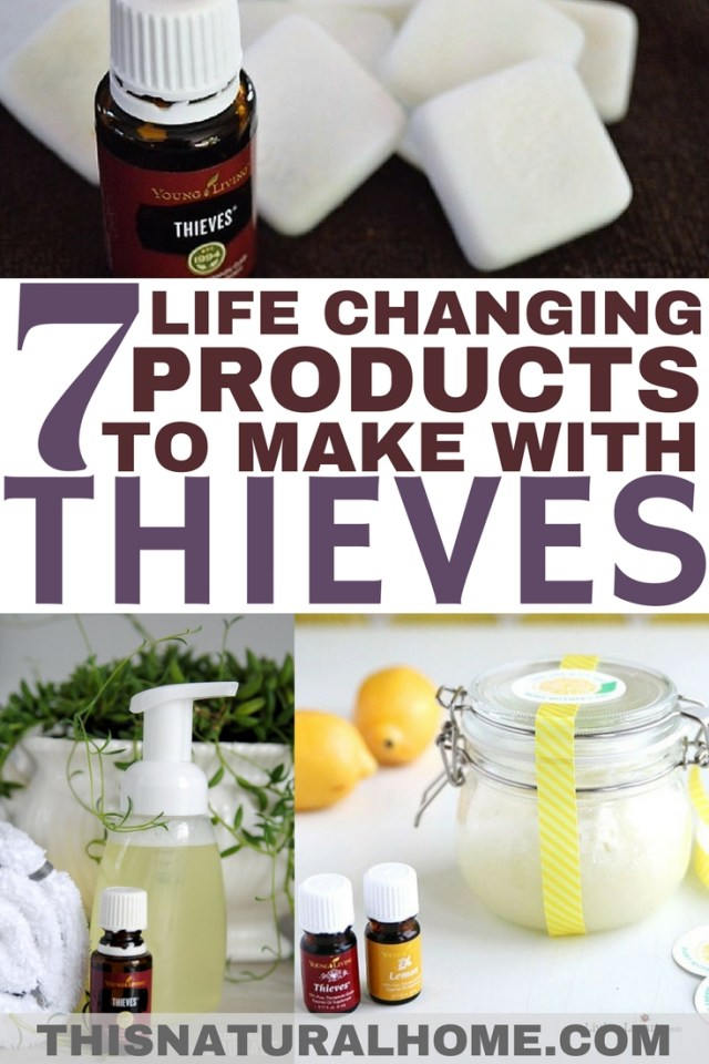 These personal care products made with thieves essential oil are going to become your new best friends. Make them today and they just might change your life!