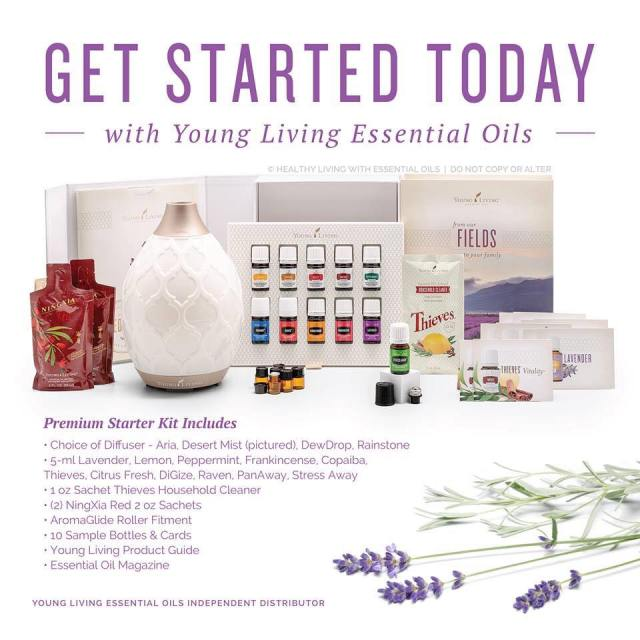 Get started today with Young Living essential oils