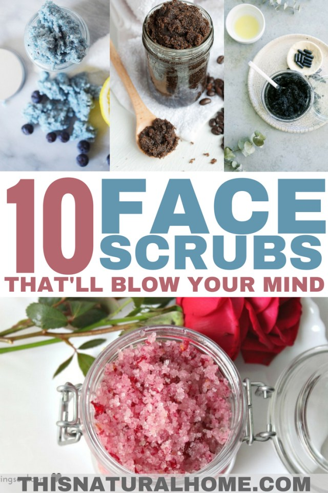These face scrubs will blow your mind! Your face will feel amazing afterward!