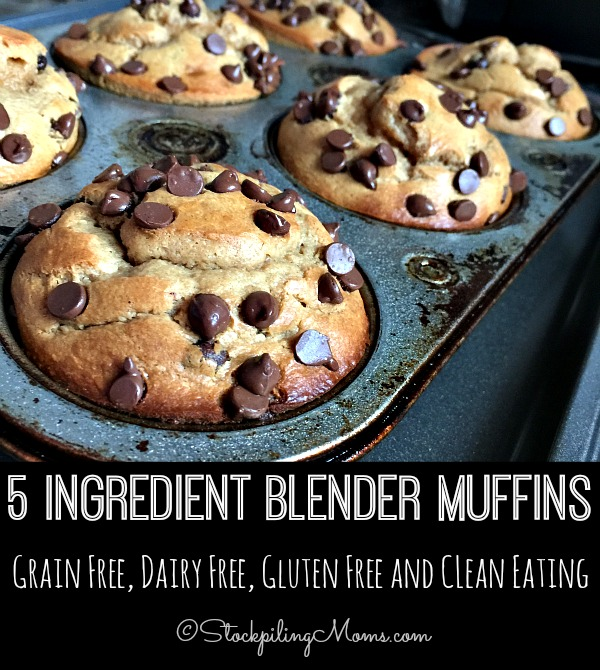 You're going to love these easy peasy blender muffins! Mornings will go so much faster when breakfast is already made and ready to eat!