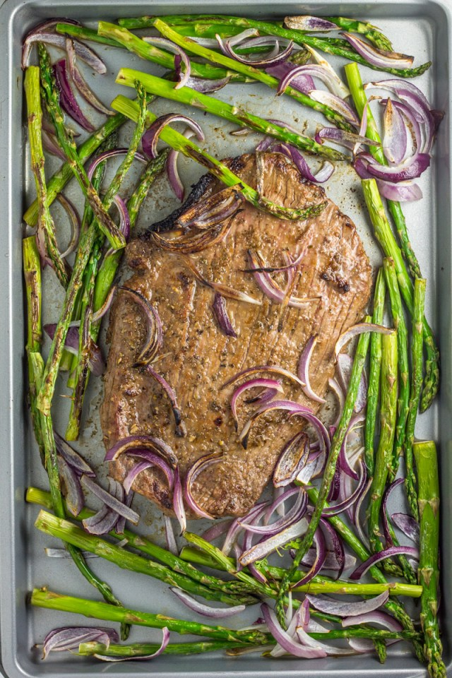 These awesome sheet pan meals are made without chicken! Trust me, you're gonna love them.