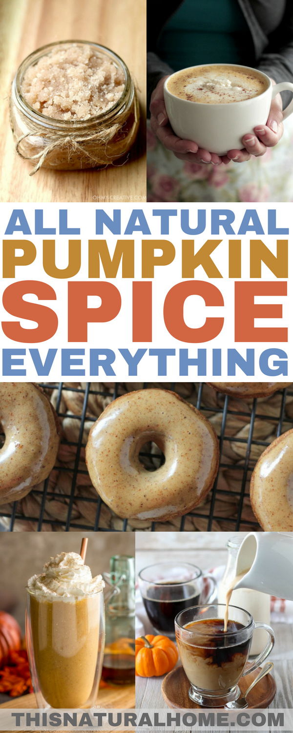 Do you want to pumpkin spice all the things? These all natural pumpkin spice recipes will help you do just that.