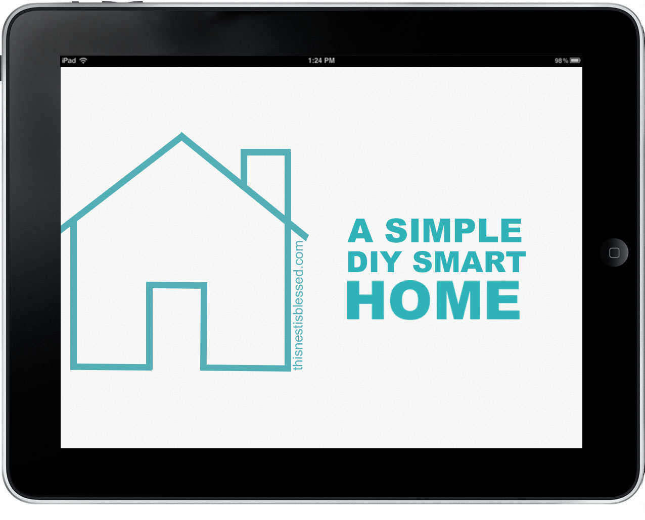 A simple diy smart home this nest is blessed for Minimalist house logo