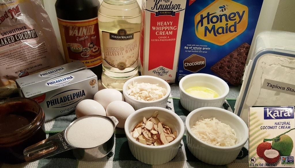 Crème de Cocoa and Coconut Cream