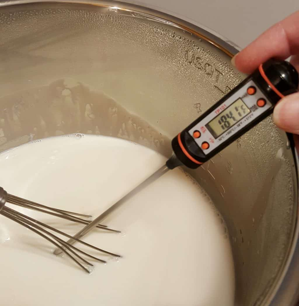 Whisk the Milk and Take the Temperature