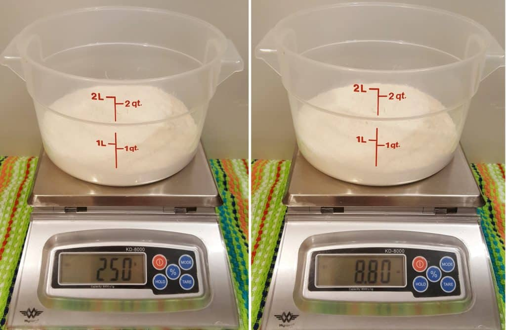 Weigh the Flour Properly