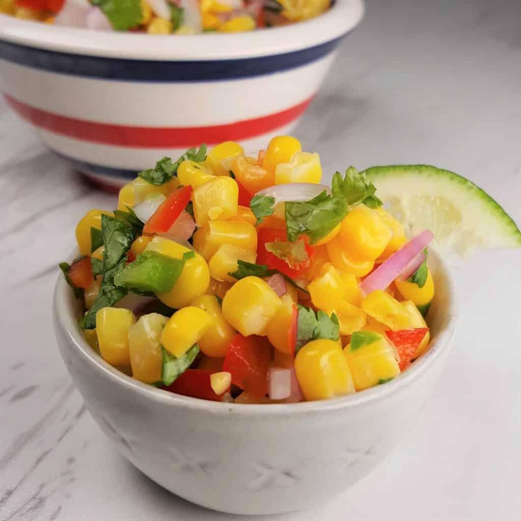 Simple Corn Salsa for Tacos Recipe