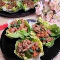 Instant Pot Asian Chicken Lettuce Wraps