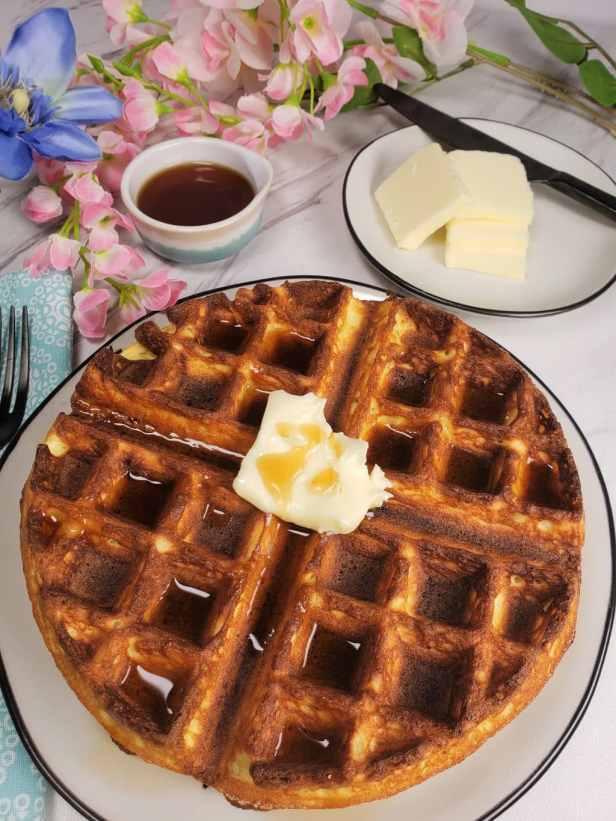 Low Carb Belgian Waffles