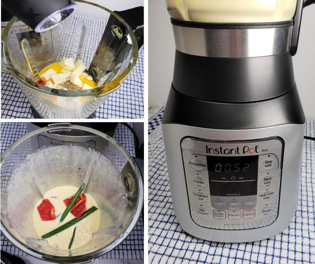 Whipped and Frothy Eggs in Blender