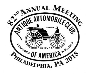 82nd Annual Meeting AACA Philadelphia, PA 2018 with This Ole Coupe
