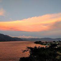 A gorgeous Guatemalan sunset