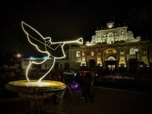 Catedral de San José (Antigua Guatemala Cathedral) at Christmas